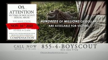 Oshan & Associates TV Spot, 'Important Message for Former Boy Scouts' - Thumbnail 2