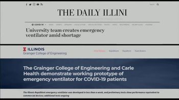 BTN LiveBIG TV Spot, 'Illinois Invention Aims to Help the Critically Ill Breathe Better' - Thumbnail 6
