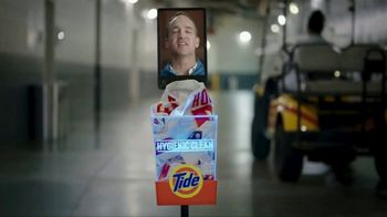 Tide Hygienic Clean TV Spot, 'On a Roll' Featuring Peyton Manning - Thumbnail 1