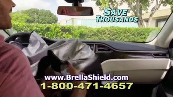 Brella Shield TV Spot, 'Sun Blocking Protection' - Thumbnail 7