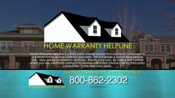 Home Warranty Helpline TV Spot, 'Fact' - Thumbnail 8