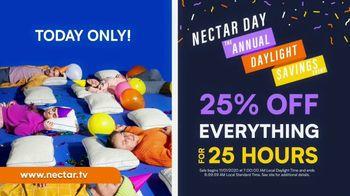 NECTAR Sleep Annual Daylight Savings Event TV Spot, '25% Off' - Thumbnail 5