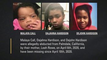 National Center for Missing & Exploited Children TV Spot, 'Call and Hardison Children'