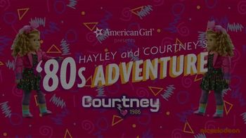 American Girl Courtney Doll TV Spot, 'Nickelodeon: The 80's Are Back With Courtney Moore' Ft. Hayley LeBlanc, Song by Cindi Lauper - Thumbnail 1