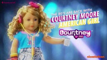 American Girl Courtney Doll TV Spot, 'Nickelodeon: The 80's Are Back With Courtney Moore' Ft. Hayley LeBlanc, Song by Cindi Lauper