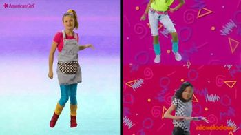 American Girl Courtney Doll TV Spot, 'Nickelodeon: The 80's Are Back With Courtney Moore' Ft. Hayley LeBlanc, Song by Cindi Lauper - Thumbnail 8