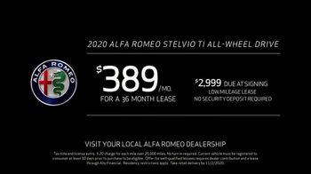 2020 Alfa Romeo Stelvio TV Spot, 'Type A: Stelvio' Featuring Alexander Skarsgård [T2] - Thumbnail 6