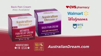 Australian Dream Arthritis Pain Relief Cream TV Spot, 'Effective Relief: Business Woman and Jogger' - Thumbnail 5
