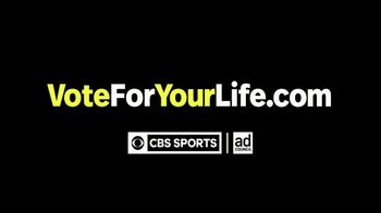 Vote for Your Life TV Spot, 'Sports vs Election' - Thumbnail 4