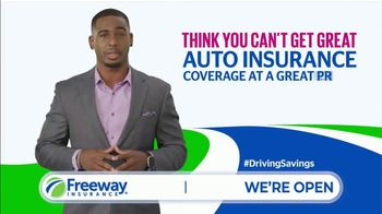 Freeway Insurance TV Spot, 'Save Hundreds' - Thumbnail 2