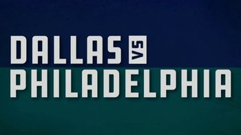 FanDuel Sportsbook TV Spot, 'Sunday Showdown: Dallas vs. Philadelphia: 25 to 1'