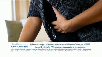 1-800-LAW-FIRM TV Spot, 'Hernia Mesh Implant' - Thumbnail 4