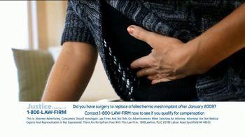1-800-LAW-FIRM TV Spot, 'Hernia Mesh Implant' - Thumbnail 7