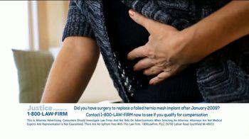 1-800-LAW-FIRM TV Spot, 'Hernia Mesh Implant' - Thumbnail 8