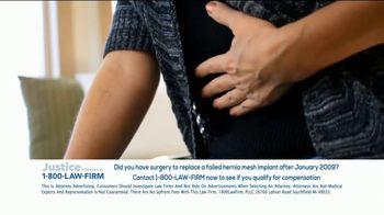 1-800-LAW-FIRM TV Spot, 'Hernia Mesh Implant' - Thumbnail 9