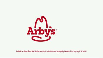 Arby's Roast Beef Sandwich TV Spot, 'Five for $10' Song by YOGI - Thumbnail 5