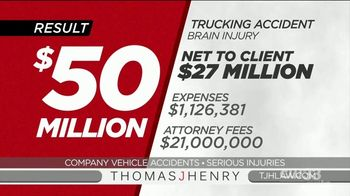 Thomas J. Henry Injury Attorneys TV Spot, 'Company Vehicle Accident Lawyers: Simple as 1-2-3' - Thumbnail 8