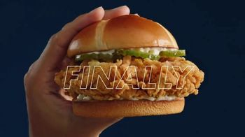 Church's Fried Chicken Sandwich TV Spot, 'At Last'