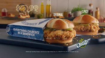 Church's Fried Chicken Sandwich TV Spot, 'At Last' - Thumbnail 4