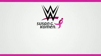 Susan G. Komen for the Cure TV Spot, 'WWE: Give a Moment' Feat. Mandy Rose, Titus O'Neil, Natalya - Thumbnail 7