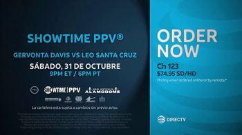 DIRECTV TV Spot, 'Premier Boxing Champions: Davis vs. Santa Cruz' [Spanish] - Thumbnail 6