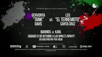 DIRECTV TV Spot, 'Premier Boxing Champions: Davis vs. Santa Cruz' [Spanish] - 2 commercial airings