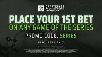DraftKings at Casino Queen Sportsbook TV Spot, 'Baseball's Championship Series: Bet $1 to Win $100' - Thumbnail 7