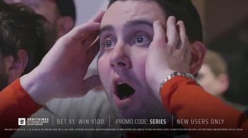 DraftKings at Casino Queen Sportsbook TV Spot, 'Baseball's Championship Series: Bet $1 to Win $100' - Thumbnail 4
