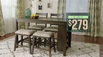Ashley HomeStore Lowest Prices of the Season TV Spot, 'Beds, Dining Tables and Special Financing' - Thumbnail 3
