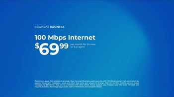 Comcast Business TV Spot, 'Ways of Working: $69.99 and Prepaid Card' - Thumbnail 8