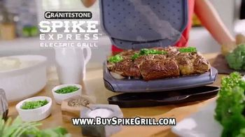 Granite Stone Spike Express Electric Grill TV Spot, 'Maximum Flavor Infusion Spikes'