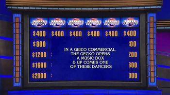 GEICO TV Spot, 'Jeopardy! Halloween: Ballerina' - Thumbnail 1