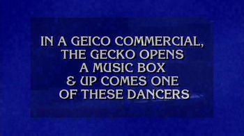 GEICO TV Spot, 'Jeopardy! Halloween: Ballerina' - Thumbnail 2