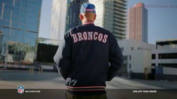 NFL Shop TV Spot, 'Make the Game Yours: 20% Off' Song by Jodosky x Albert Hype - 4 commercial airings