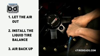 Checkered Flag Liquid Tire Balance TV Spot, 'For All Tires' - Thumbnail 5