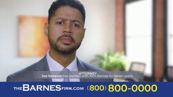 The Barnes Firm TV Spot '14 Years'
