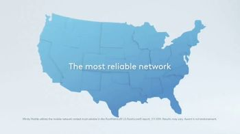 XFINITY Mobile TV Spot, 'The Most Reliable Network: Save $400' - Thumbnail 1