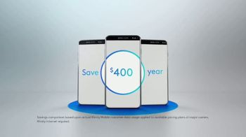 XFINITY Mobile TV Spot, 'The Most Reliable Network: Save $400' - Thumbnail 3