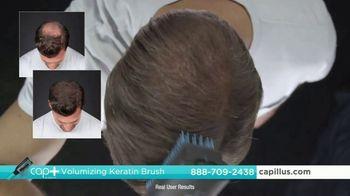 Capillus Cap+ Volumizing Keratin Brush TV Spot, 'Hide Thinning Hair: Men: $35 Off' - Thumbnail 4