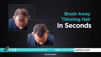 Capillus Cap+ Volumizing Keratin Brush TV Spot, 'Hide Thinning Hair: Men: $35 Off' - Thumbnail 9