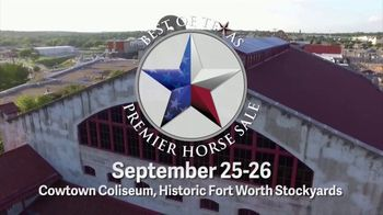 Premier Horse Sales TV Spot, '2020: Cowtown Coliseum and Fort Worth Stockyards' - Thumbnail 1