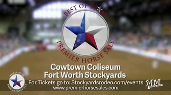 Premier Horse Sales TV Spot, '2020: Cowtown Coliseum and Fort Worth Stockyards' - Thumbnail 3
