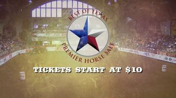 Premier Horse Sales TV Spot, '2020: Cowtown Coliseum and Fort Worth Stockyards' - Thumbnail 6