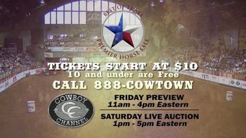 Premier Horse Sales TV Spot, '2020: Cowtown Coliseum and Fort Worth Stockyards' - Thumbnail 7