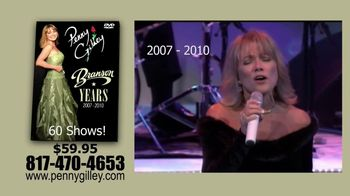 Penny Gilley TV Spot, \'The Branson Years\'