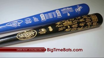 Big Time Bats TV Spot, 'LA Dodgers 2020 World Series Champions Louisville Slugger Bats' - Thumbnail 2