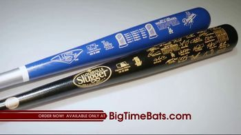 Big Time Bats TV Spot, 'LA Dodgers 2020 World Series Champions Louisville Slugger Bats'