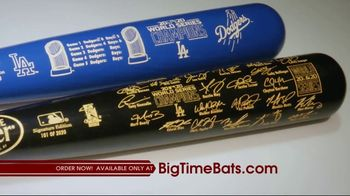 Big Time Bats TV Spot, 'LA Dodgers 2020 World Series Champions Louisville Slugger Bats' - Thumbnail 5