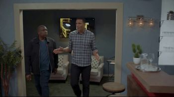 Lowe's TV Spot, 'The OT on FOX: Built My Home Into a Stadium' Featuring Curt Menefee, Tony Gonzalez - Thumbnail 2