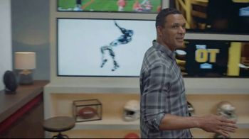 Lowe's TV Spot, 'The OT on FOX: Built My Home Into a Stadium' Featuring Curt Menefee, Tony Gonzalez - Thumbnail 3